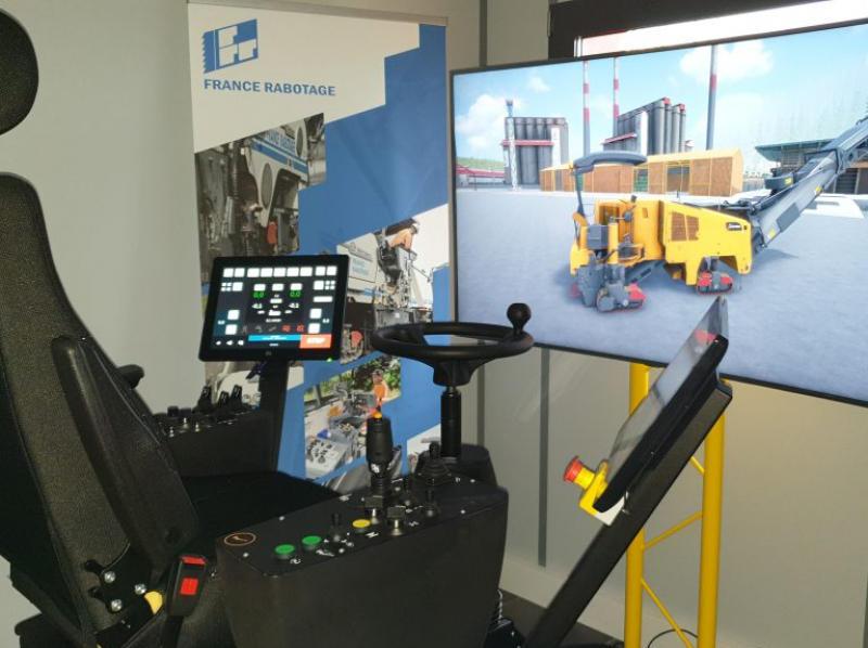 L'entreprise France Rabotage a conçu avec Acreos, spécialiste de la formation par simulation, un outil pour former les futurs raboteurs.