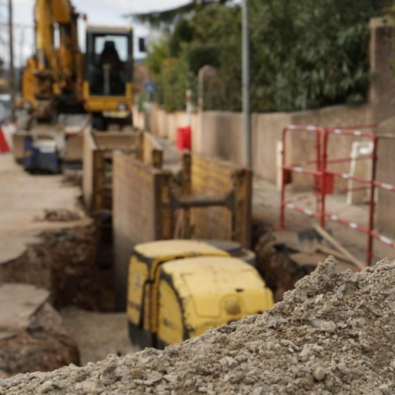 Les risques d'éboulementsur les chantiers.