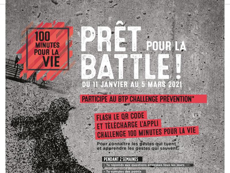 """Campagne """"100 minutes pour la vie"""" 2021"""