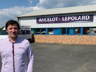 Yannick Lepolard, gérant de l'entreprise Ancelot-Lepolard