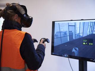 Session de formation en réalité virtuelle