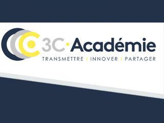 Capture d'écran du site 3C.Académie - CCCA-BTP