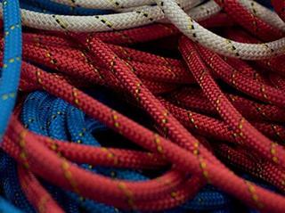 Travaux sur cordes - appel inspection Petzl