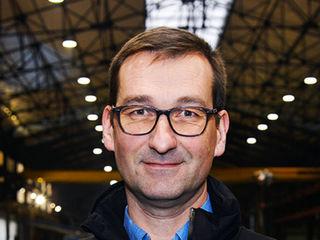 Stéphane Chartier, dirigeant de l'entreprise Baudoux