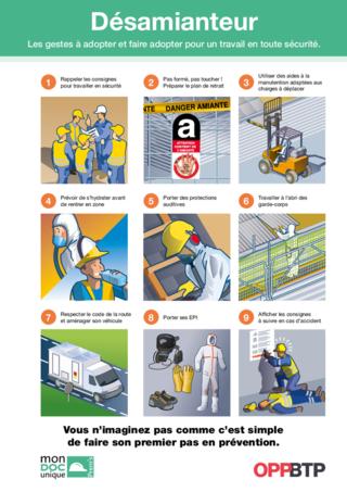 AF104- Désamianteur- Les gestes à adopter pour travailler en sécurité Prems