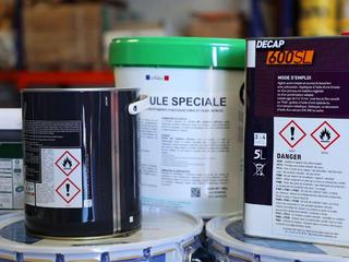 Utilisation de produits chimiques
