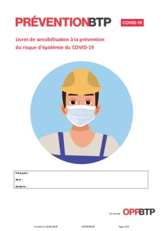 O82-Livret de sensibilisation au risque d'épidémie de Covid-19