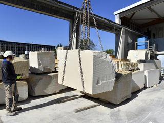 Le nouvel atelier de taille de pierre de Bâtiment Associé permettra de développer l'activité.