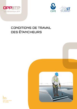 OUVRAGE - F1 G 05 16 - Conditions de travail des étancheurs