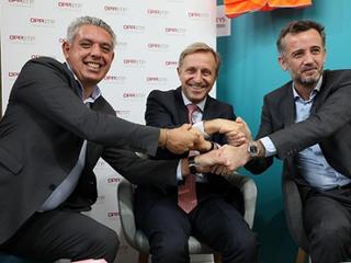 Signature d'une convention entre T2S, Kiloutou et l'OPPBTP