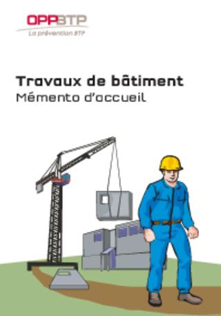 M20 - MEMENTO - Accueillir sur un chantier de bâtiment