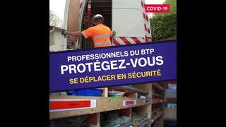 OPPBTP #covid-19#comment se déplacer en sécurité