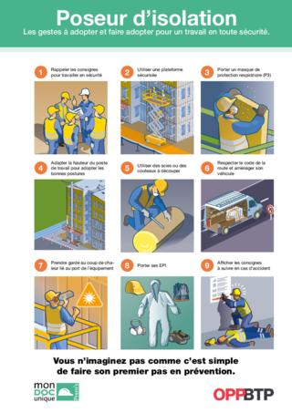 AF115- Poseur-isolation- Les gestes à adopter pour travailler en sécurité Prems