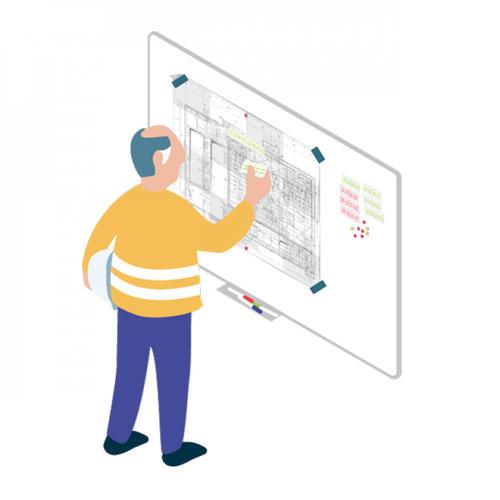 S428 - Préparer les rotations de banches en les visualisant sur un tableau