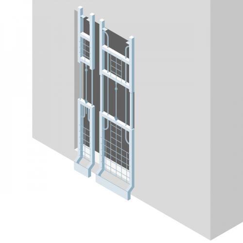 S431 - Une grille adaptée pour protéger les fosses d'ascenseur