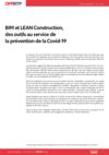 O83-BIM et LEAN Construction, des outils au service de la prévention de la Covid-19