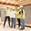 Apprentis sur un chantier
