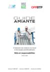 OUVRAGE - H1 G 01 20 - Guide amiante à l'attention des médecins du travail  et des équipes pluridisciplinaires - Rôle et responsabilités