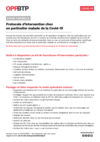 FOP41 - Covid-19 : Protocole d'intervention chez un particulier malade du Covid-19