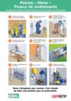 AF112- Peintre-vitrier-poseur-revetement- Les gestes à adopter pour travailler en sécurité Prems