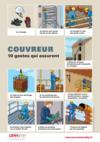 AF11 - AFFICHE - F1 A 01 17 - Couvreur - 10 gestes qui assurent