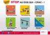 AFFICHE - I1 A 03 18 - Stop au dos qui « crac » !