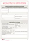 FOP 09 - Examen d'adéquation d'une plate-forme (PEMP)