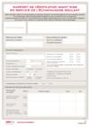 FOP 26 - Rapport de vérification avant mise en service de l'échafaudage roulant