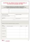 FOP 28 - Rapport de vérification trimestrielle d'un échafaudage de pied