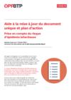 FOP60-Aide à la mise à jour du document unique et du plan d'action-Risque d'épidémie infectieuse