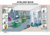 AF5 - Eviter le risque poussières dans un atelier de menuiserie bois
