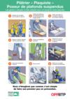 AF113- Platrier-plaquiste-Poseur-plafonds-suspendus- Les gestes à adopter pour travailler en sécurité Prems