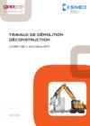 OUVRAGE - D8 G 01 12 - Travaux de démolition déconstruction - Livret de l'accueillant