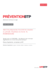 FOP47 - Covid-19 : Aide à la préparation d'activité de chantier avec un fournisseur en période d'épidémie de Covid-19