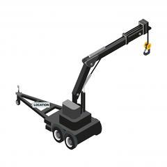 S713 - Louer une grue plutôt qu'un chariot élévateur pour la construction de maisons à ossature bois
