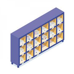 S819-Covid-19:Un meuble pour stocker les gants sur chantier