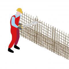 38-Découper. façonner et assembler les armatures en sécurité sur les chantiers