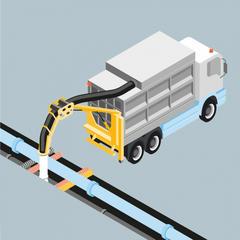S674 - Réaliser les opérations de terrassement avec une aspiratrice