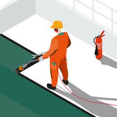 S54 - Travaux d'étanchéité sur toiture : sécuriser l'utilisation du propane