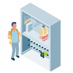 S443 - Sécher rapidement les vêtements de travail