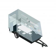 S690 - Installer des bases vie autonomes et roulantes sur les chantiers de courte durée