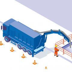 S477 - Réaliser des terrassements par aspiration