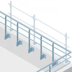 S427 - Installer les garde-corps définitifs dès la fin du gros œuvre évite les installations successives de barrières provisoires