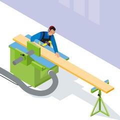 S85 - Travail du bois : l'indispensable dégauchisseuse