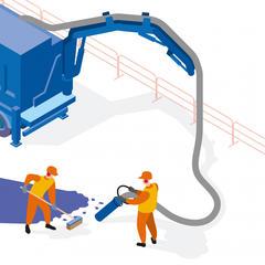 S271 - Évacuer les gravats avec une excavatrice-aspiratrice