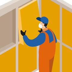 S77 - La fibre de bois pour isoler les sols. plafonds et cloisons