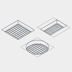 S207-Petites trémies pour conduits verticaux : la protection par treillis soudé