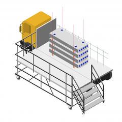 S34-Transporter. stocker et manutentionner des dalles alvéolaires précontraintes en sécurité