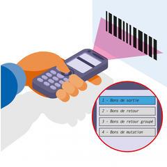 S384 - Gérer outils et matériels grâce à un système de code-barres