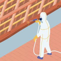 S234-Traitement curatif et préventif des charpentes bois